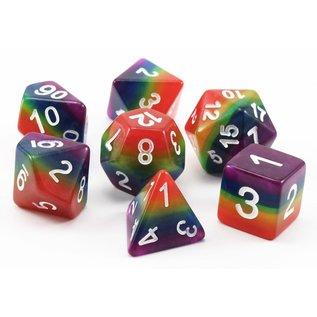 Goblin Dice Rainbow Dice Set