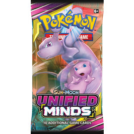 Sun & Moon Unified Minds Booster Pack