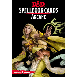 Gale Force Nine D&D Spellbook Cards Arcane