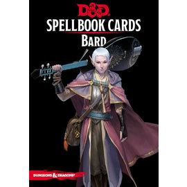 Gale Force Nine D&D Spellbook Cards Bard