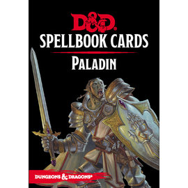 Gale Force Nine D&D Spellbook Cards Paladin
