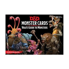 Gale Force Nine D&D Monster Cards Volo's Guide to Monsters