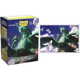 Arcane Tinmen Matte Art Dragon Shield - Dragon Of Liberty