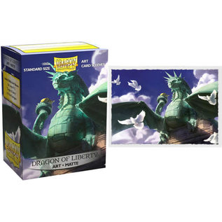 Arcane Tinmen Dragon Shield 110ct Dragon of Liberty