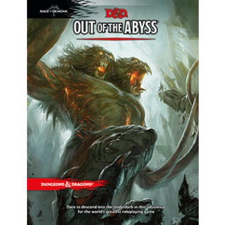 Wizards of the Coast Out of the Abyss