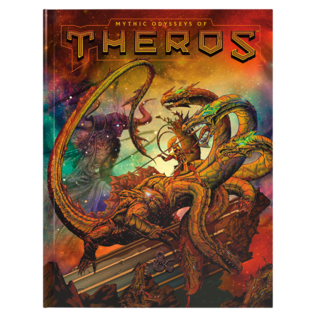 Wizards of the Coast Mythic Odysseys of Theros Hobby Cover