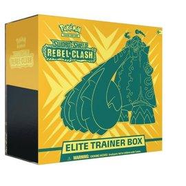 Pokemon Sword & Shield: Rebel Clash Elite Trainer Box