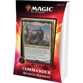Commander 2020 - Ruthless Regiment