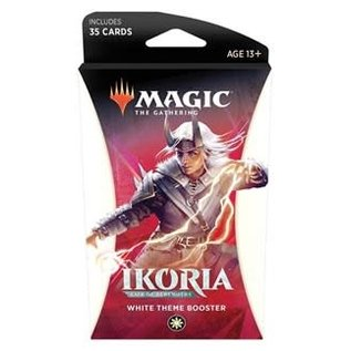 Ikoria Theme Booster - White