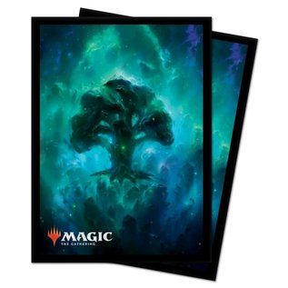 Theros Matte Celestial Forest Sleeves 100 Count
