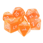Goblin Dice Orange Pearl Dice Set