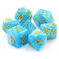 Goblin Dice Light Blue Pearl Dice Set