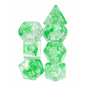 Goblin Dice Green Nebula Dice Set