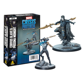 Atomic Mass Games Marvel Crisis Protocol: Corvus Glaive and Proxima Mid