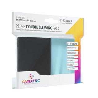 Prime Double Sleeving Pack: Black