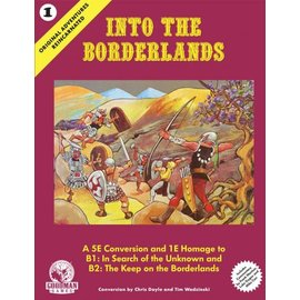 Into the Borderlands Hard Cover