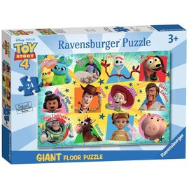 Disney Toy Story 4 We're Back! Floor Puzzle