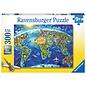 World Landmarks Map