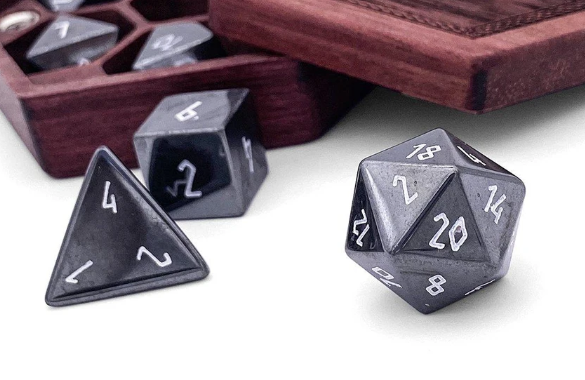 Norse Foundry Hemotite Gemstone Dice Goblin Games 36,584 likes · 423 talking about this. goblin games
