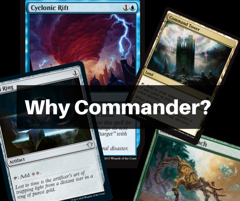Why Commander?