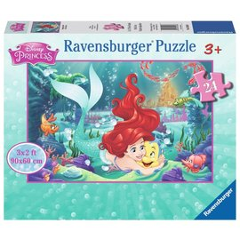 Disney Little Mermaid Hugging Arielle Floor Puzzle
