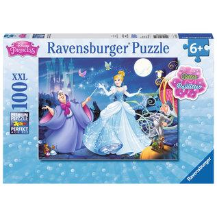 Disney Adorable Cinderella Glitter Puzzle