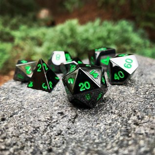 Norse Foundry Poisoned Daggers Metal Dice Set