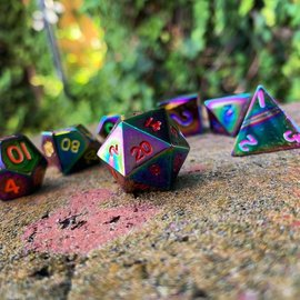 Norse Foundry Bi-Frost Metal Dice Set