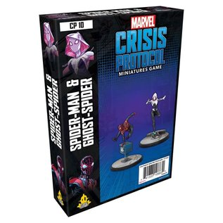 Atomic Mass Games Marvel Crisis Protocol: Spider-man & Ghost Spider