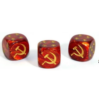 Axis and Allies Russian Scarab Gold D6