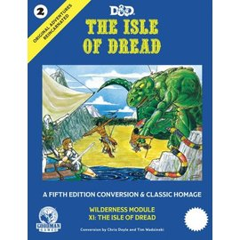 Isle of Dread Hard Cover
