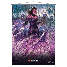 Liliana Stained Glass Wall Scroll