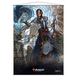 Teferi Stained Glass Wall Scroll