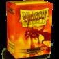 Dragon Shield 100ct Box Deck Protector Matte Orange