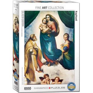 Eurographics Sistine Madonna (Detail) - Raphael