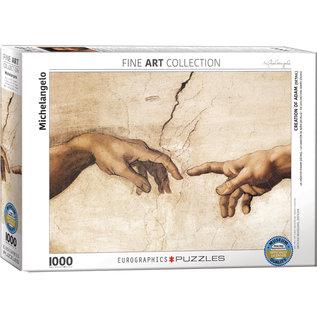 Eurographics Creation of Adam (Detail) - Michelangelo