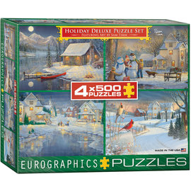 Eurographics Holiday Deluxe Puzzle Set
