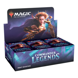 Commander Legends Draft Booster Box (11/20/2020)