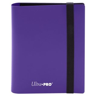 Eclipse Purple 4-Pocket Pro-Binder