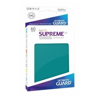Supreme UX Petrol  Matte Sleeves 60ct (Small)
