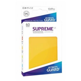 Supreme UX Yellow  Matte Sleeves 60ct (Small)