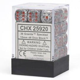 Granite Speckled12mm D6 Block (36)