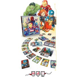 Marvel United Kickstarter Bundle (Base Game and Preorder)