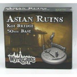 Wyrdscape: Asian Ruins 50MM Koi Bridge