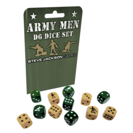Steve Jackson Games Army Men d6 Dice Set