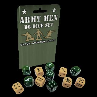 Steve Jackson Games Army Men d6 Dice Set