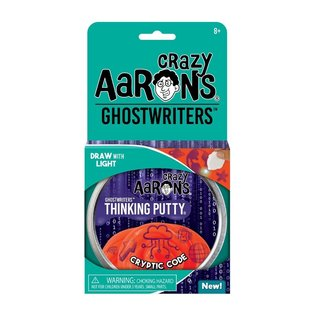 Crazy Aaron's Thinking Putty Cryptic Code Thinking Putty