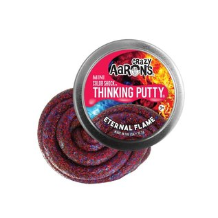Crazy Aaron's Thinking Putty Eternal Flame Thinking Putty