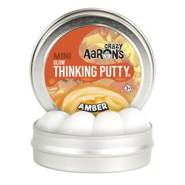 Crazy Aaron's Thinking Putty Amber Thinking Putty
