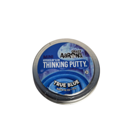 Crazy Aaron's Thinking Putty True Blue Thinking Putty